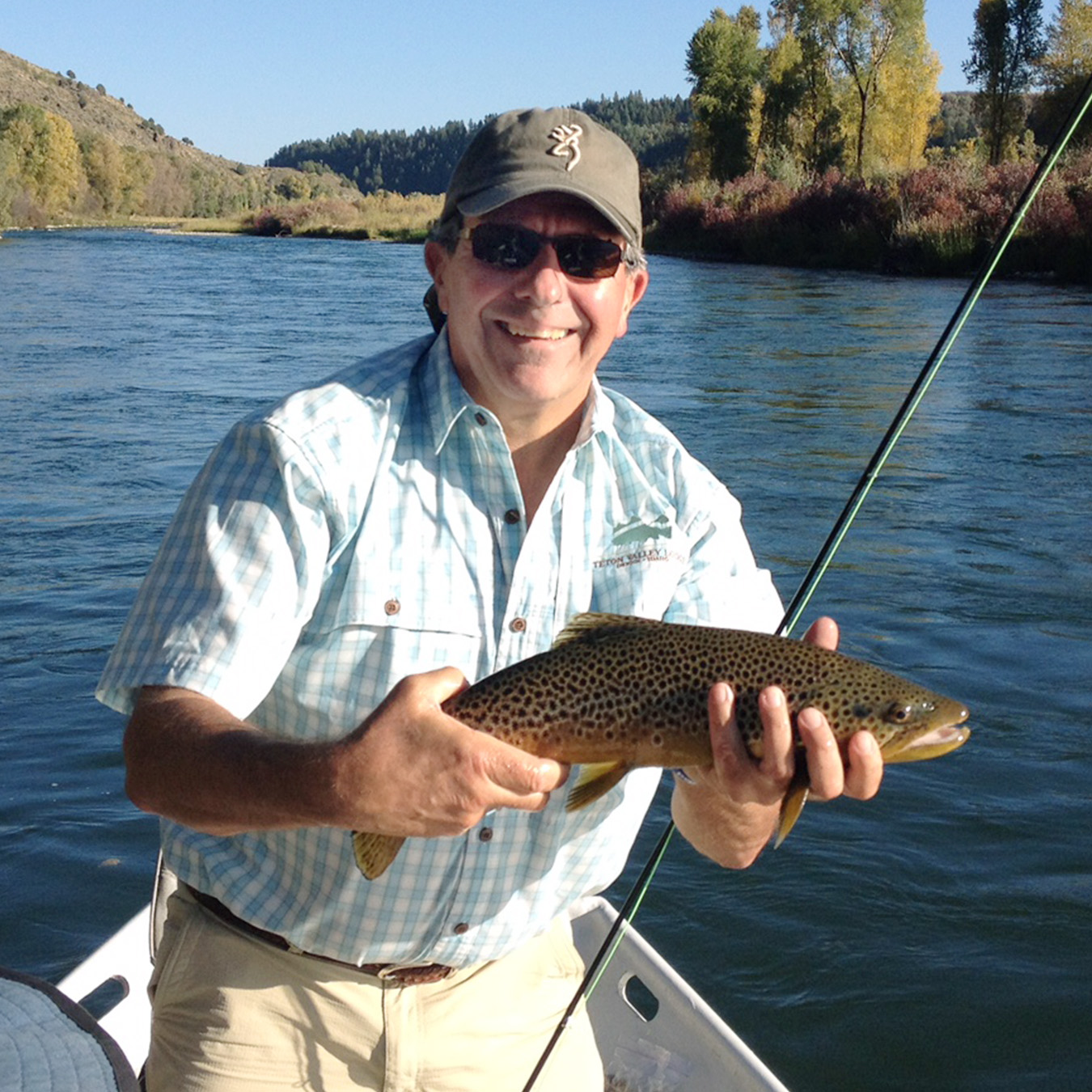 Richard Dreyer of Holmes Structures with Fish