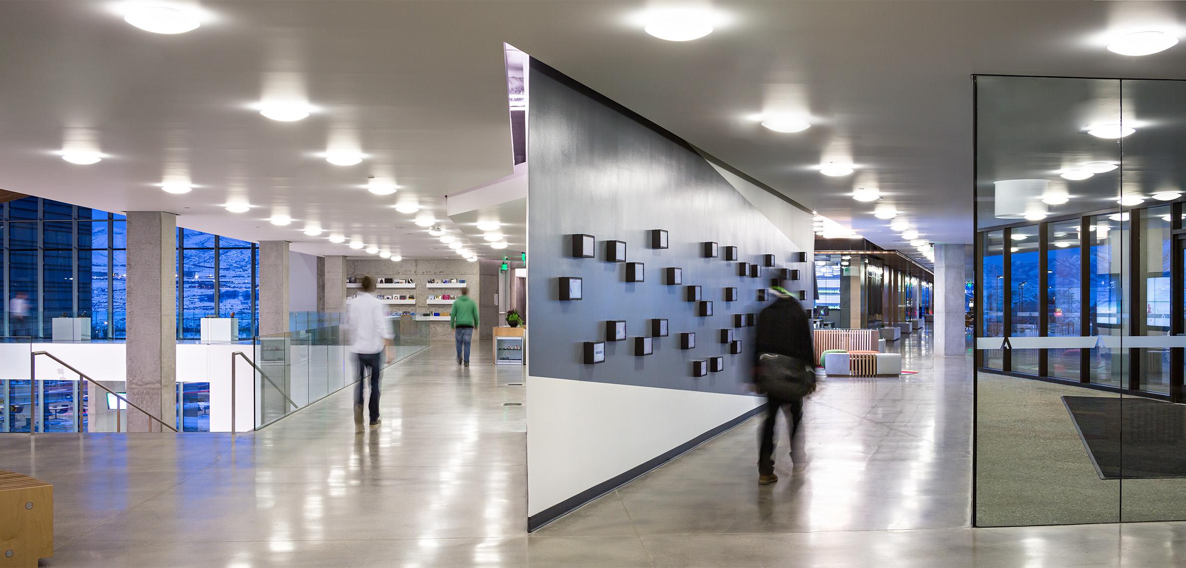 Adobe Utah interior corridor
