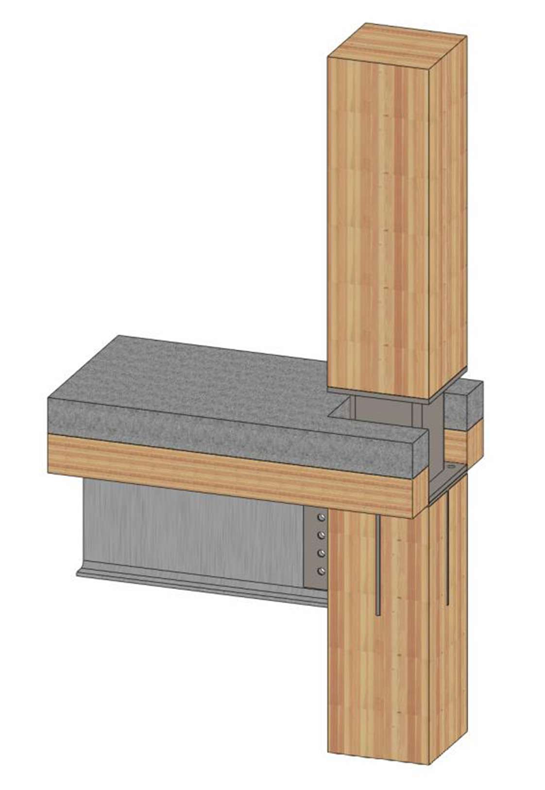 Cross-Laminated Timber SOLIDWORKS Model by Holmes Structures