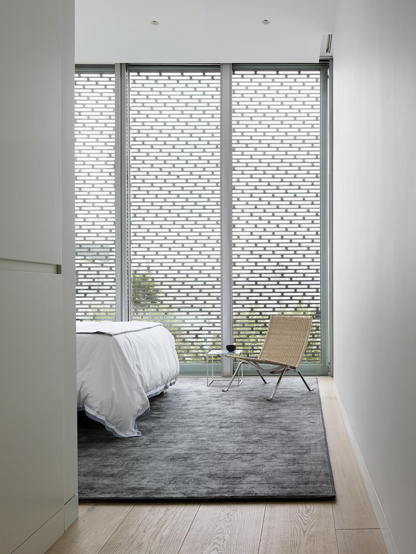 Fulton Street Residence bedroom
