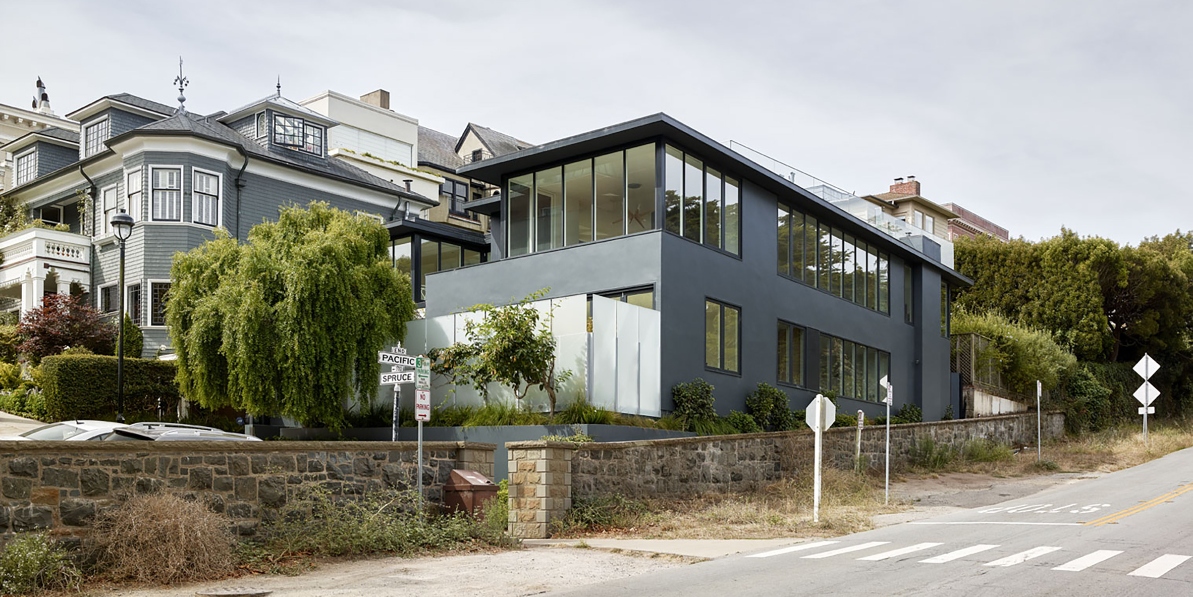 Spruce Street Residence San Francisco Facade