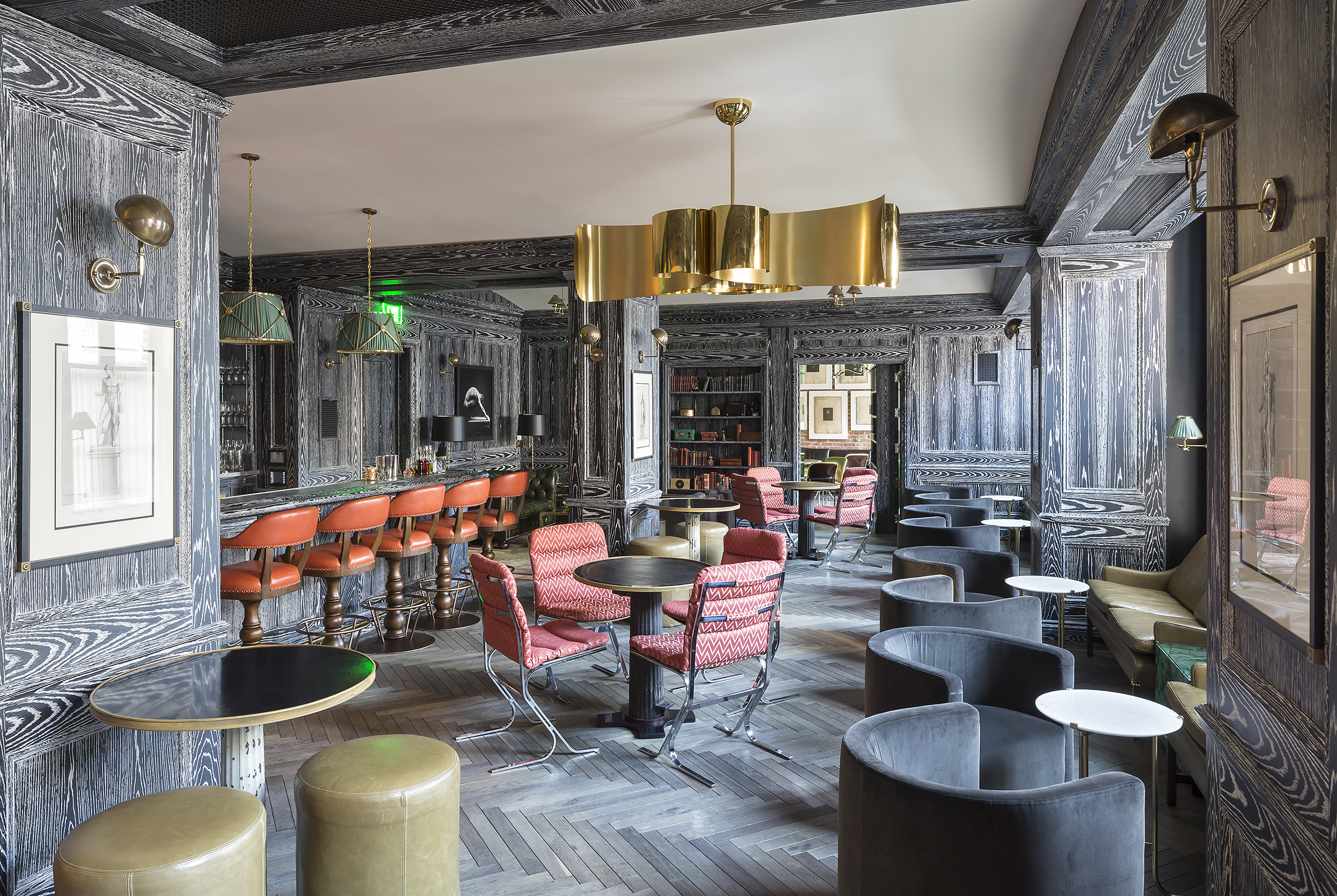 The Battery Interior Bar with Chairs