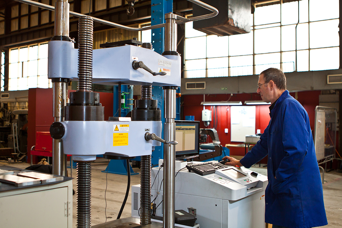 Holmes Solutions material testing