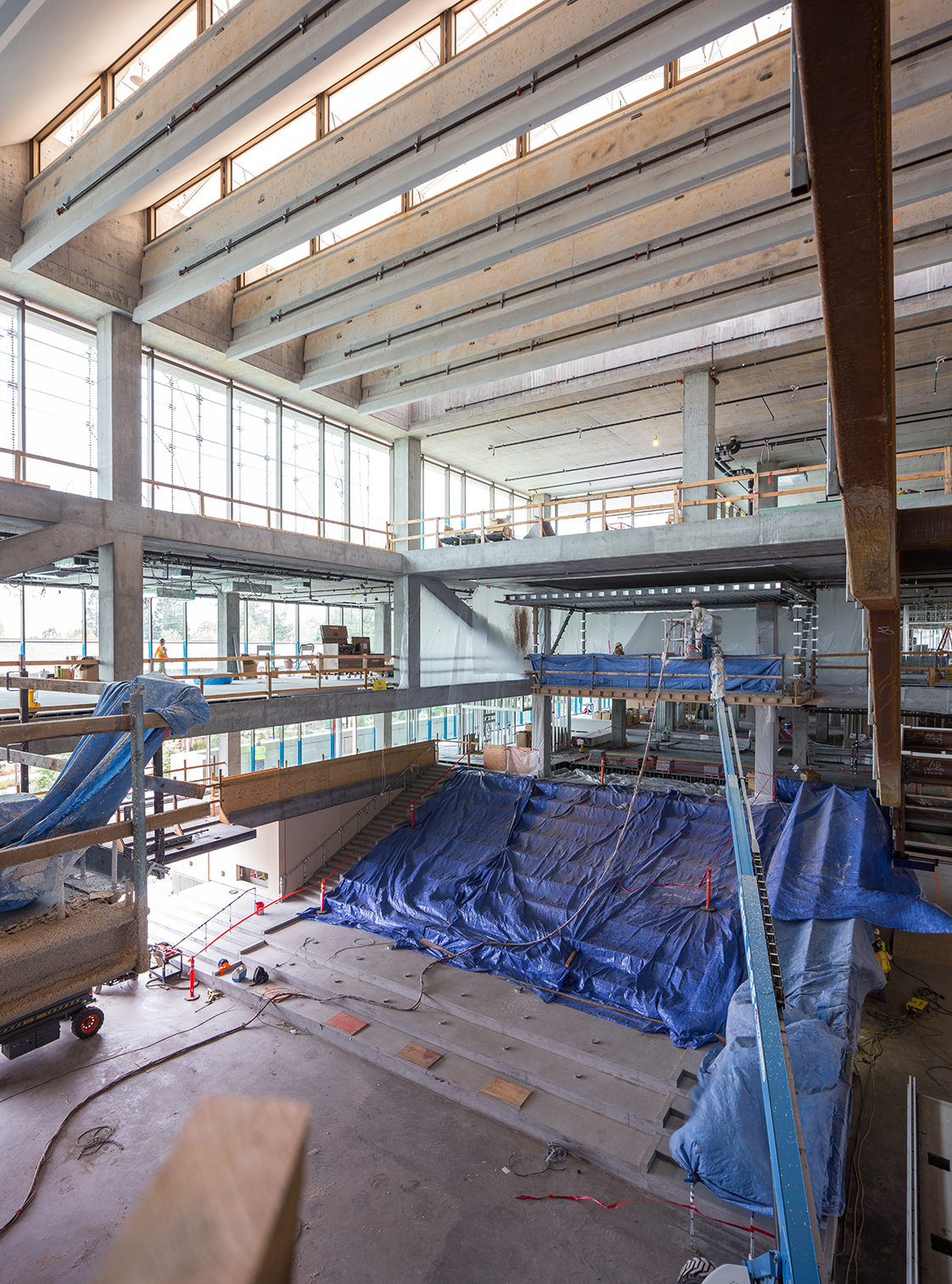 Intuit construction atrium skylight view2