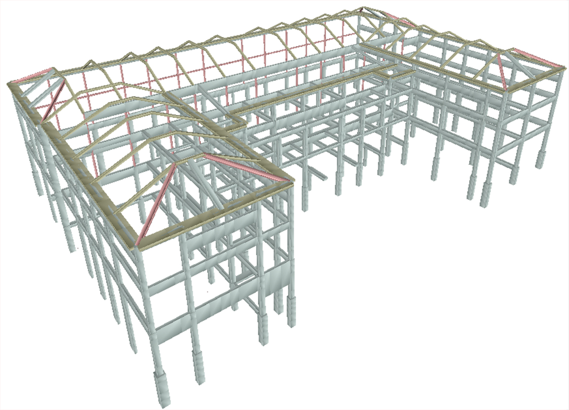 Salt Lake City Public Safety Building Performance-Based Engineering Model