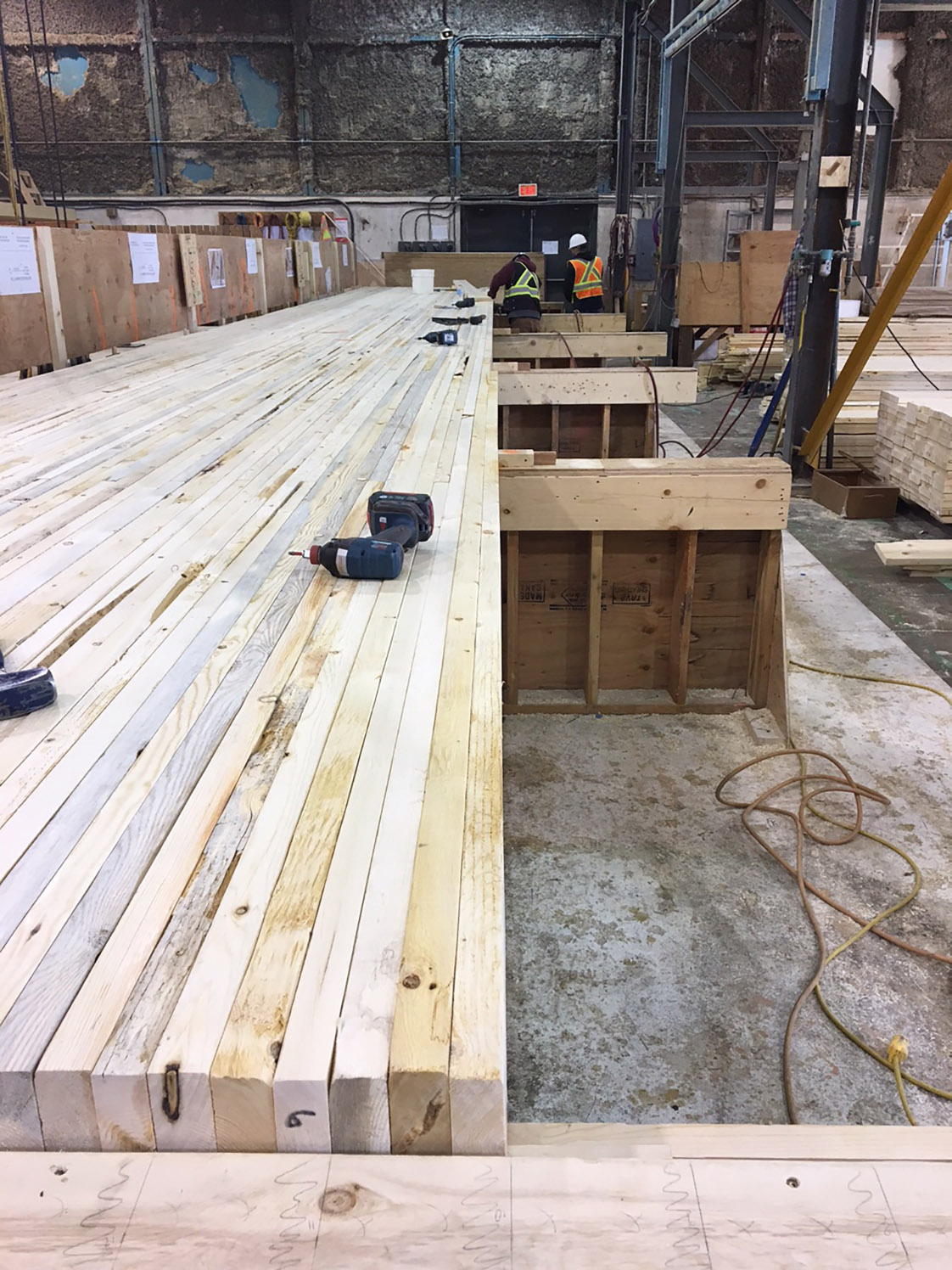 Mass timber manufacturing