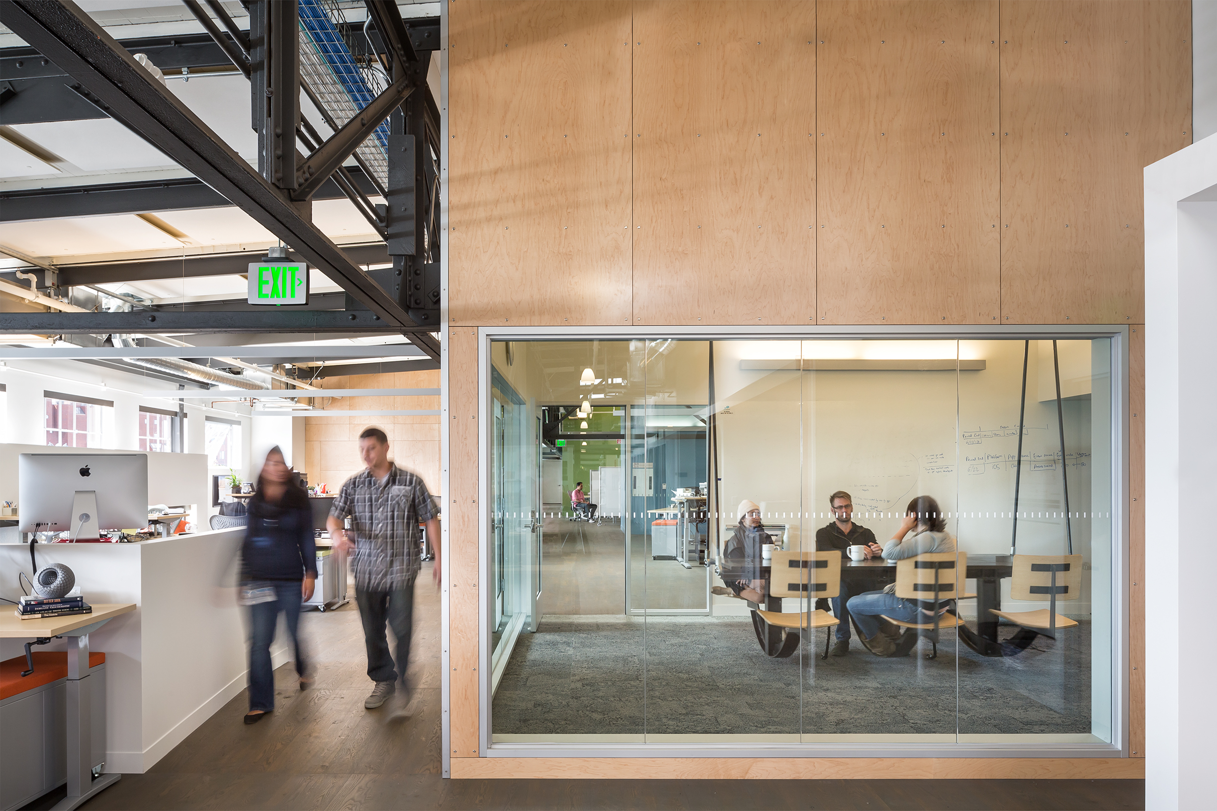 Autodesk Pier 9 San Francisco Office Interior with Conference Room