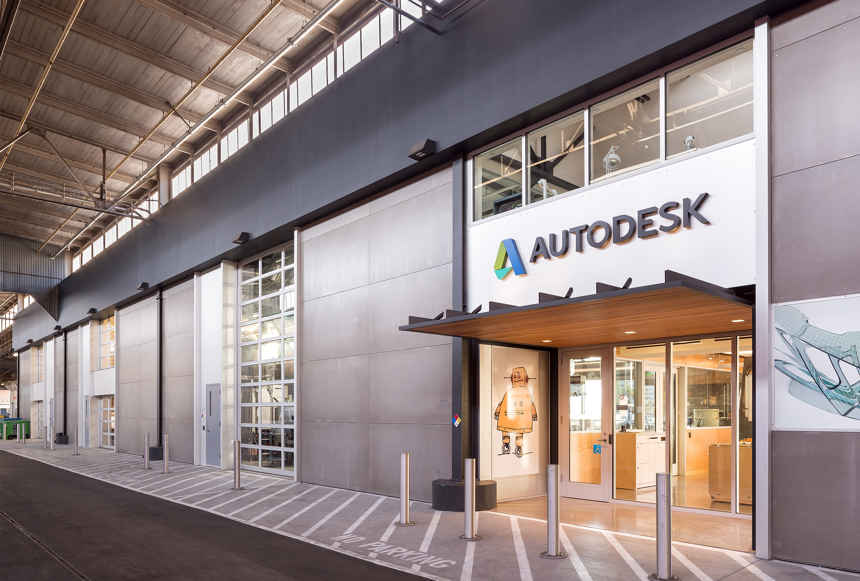 Autodesk Pier 9 San Francisco Exterior Fracade
