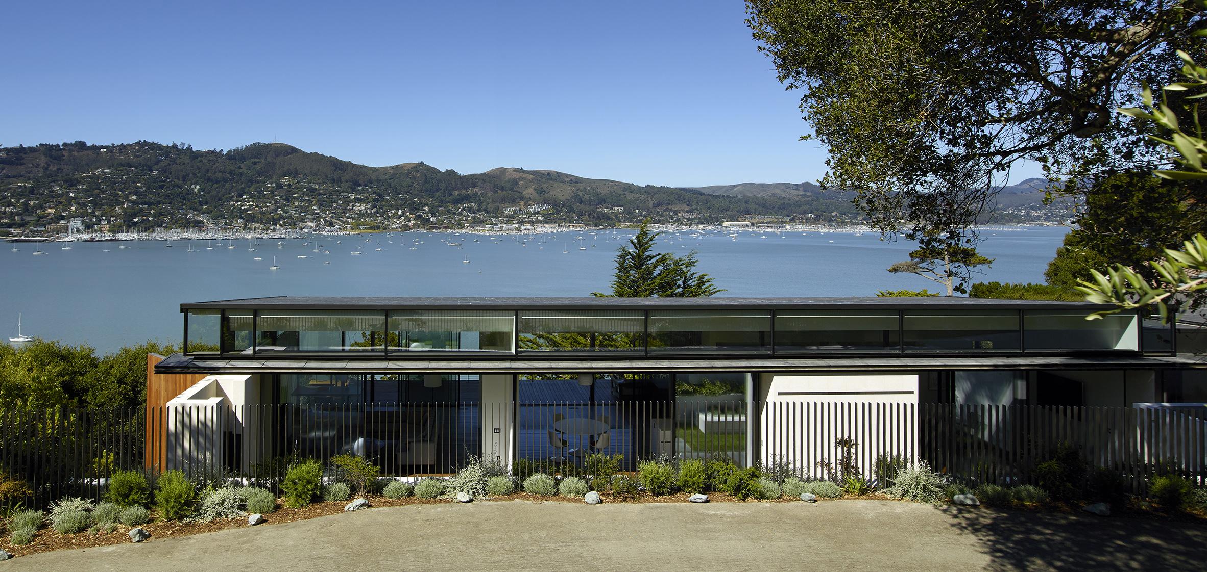 Eucalyptus Residence facade street view