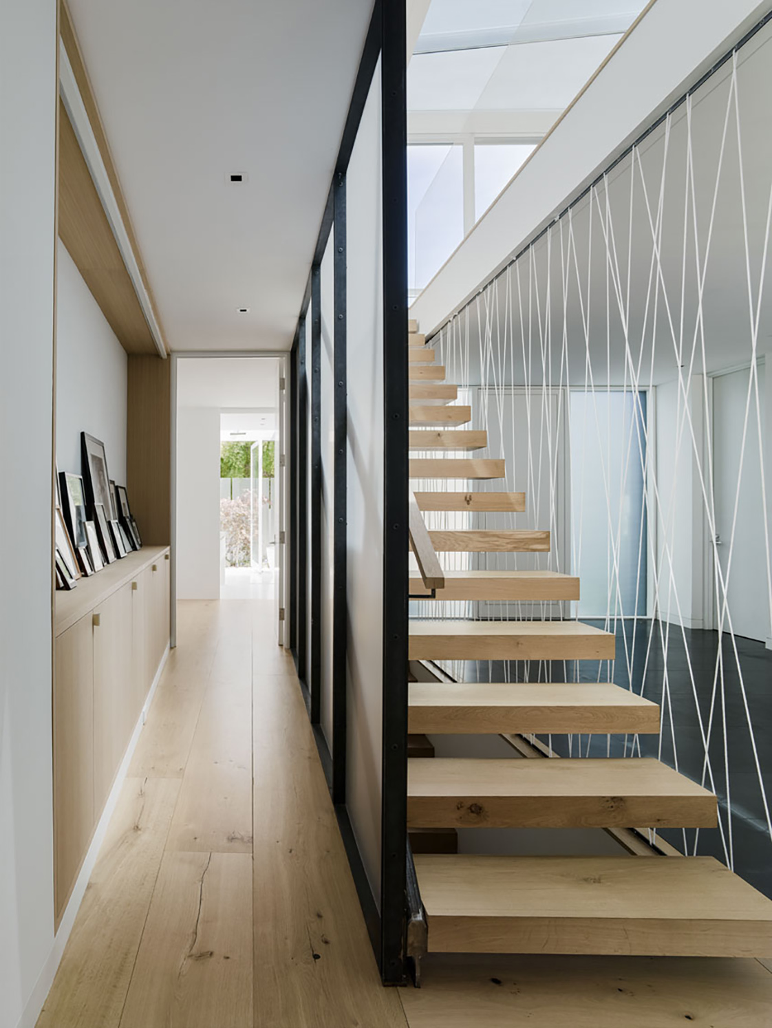 Spruce Street Residence Staircase