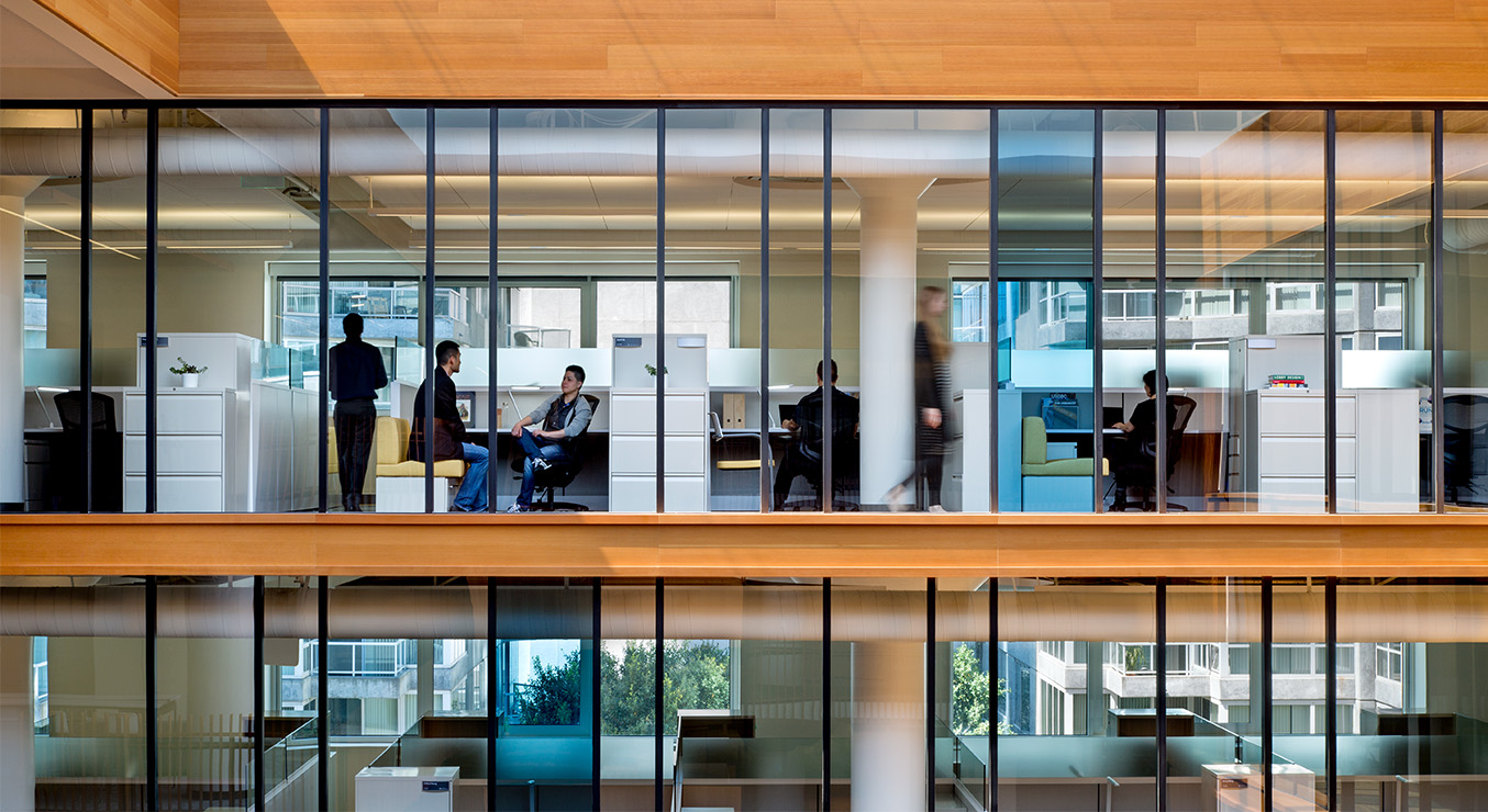 Bay Area Metro Center Office Interiors
