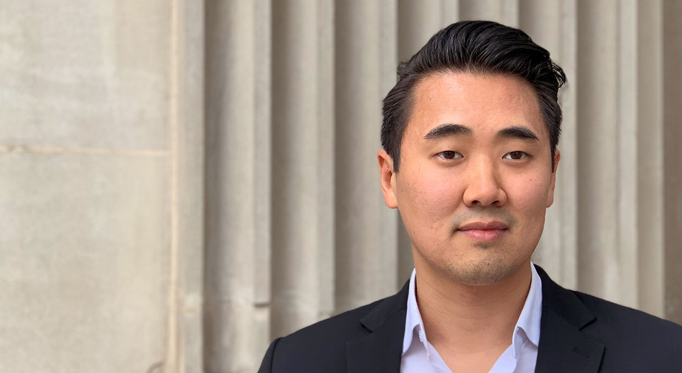 Andrew Lee of Holmes Group in Downtown LA